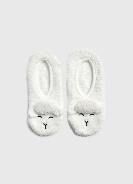 брюки домашние nymos nymos ny002ewgjnn7 Домашние короткие носки «овечки»