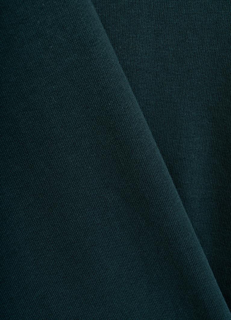 Толстовка со слоган-вышивкой