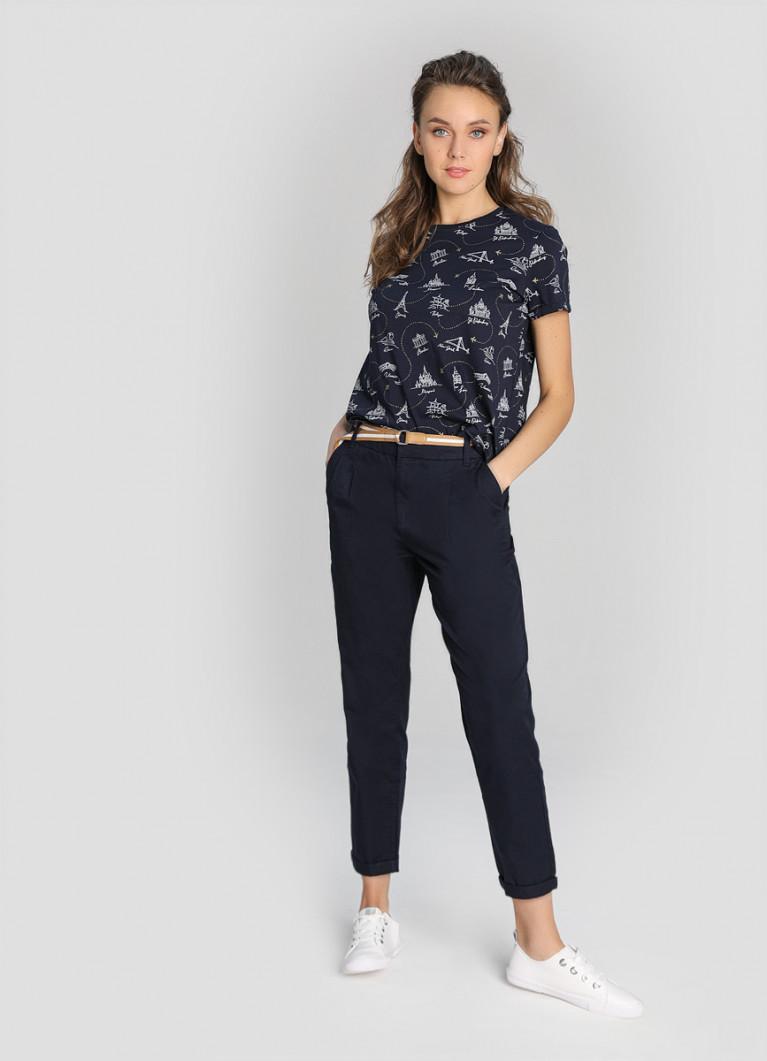 Женские брюки O'Stin Брюки-чиносы на поясе