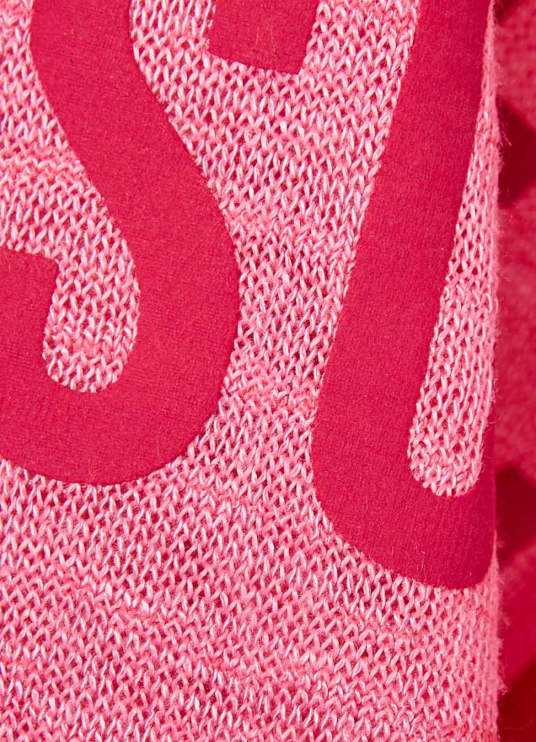 Футболка со слоган-принтом