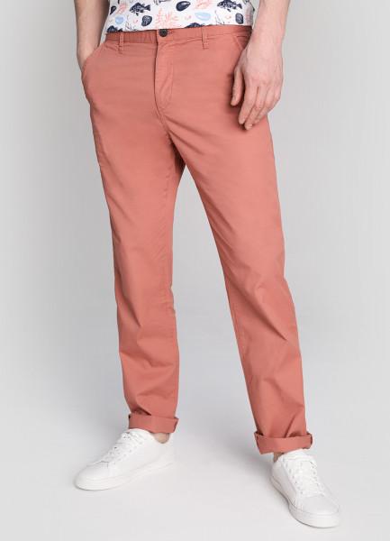 Базовые брюки Chino из микротвила фото