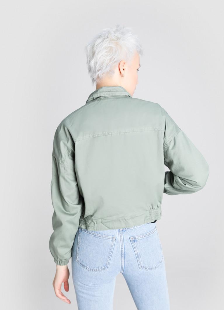 Куртка O'Stin Короткая байкерская куртка