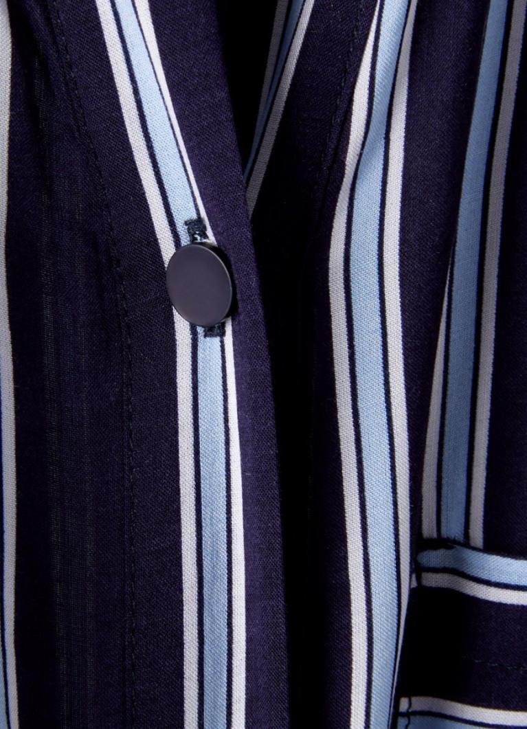 Блузка из вискозы в полоску