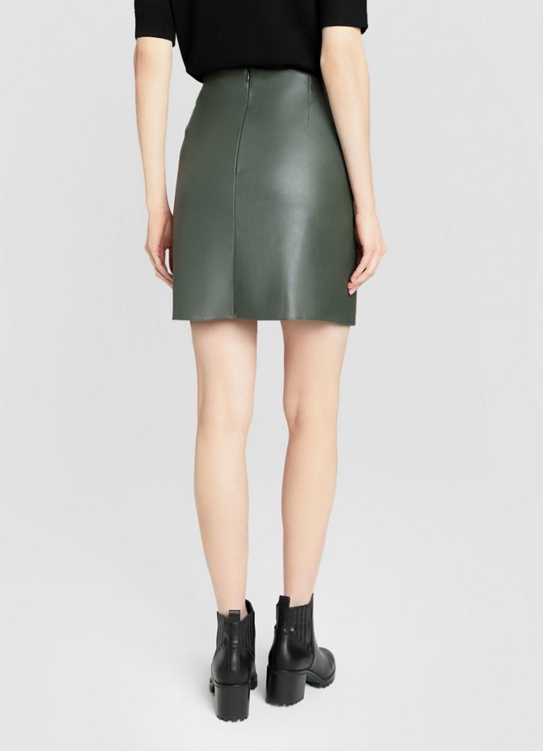 Юбка O'Stin Кожаная юбка-карандаш