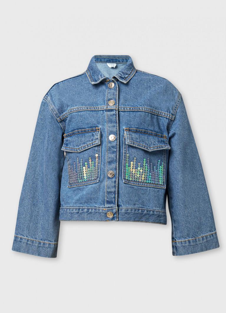 Жакет O'Stin Джинсовая куртка для девочек