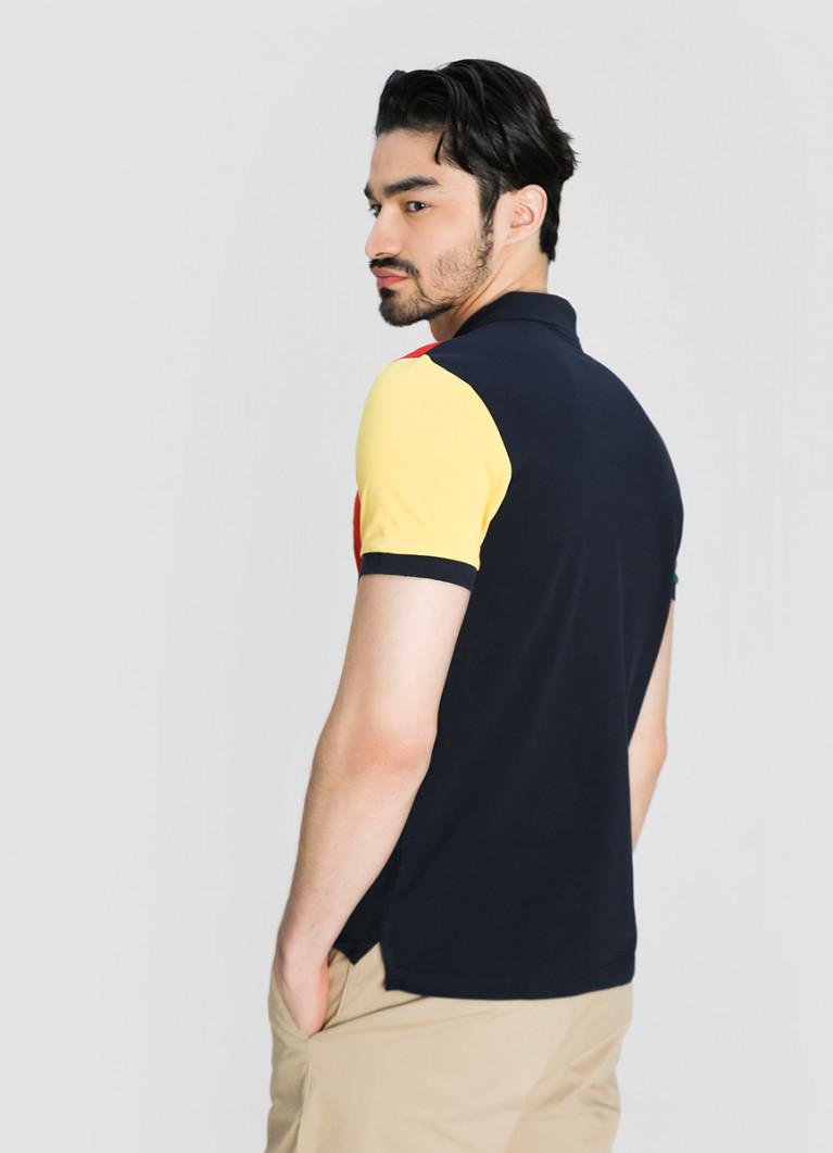 Мужские футболки поло O'Stin Поло с геральдической вышивкой
