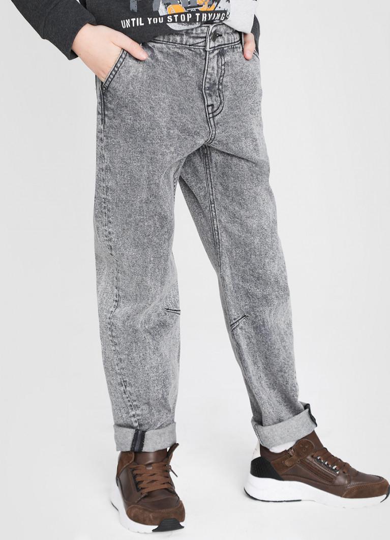 Джинсы для мальчиков O'Stin Серые джинсы для мальчиков Dad Fit