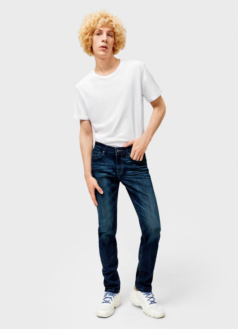 Мужские джинсы O'Stin Узкие эластичные джинсы