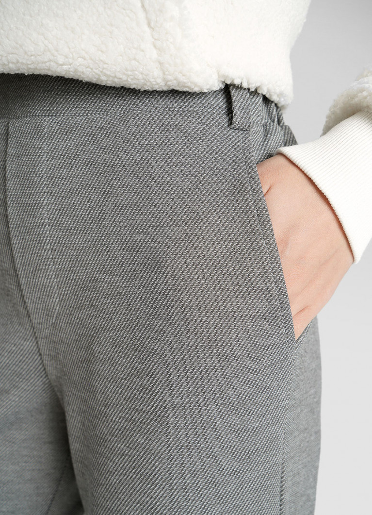 Трикотажные брюки-карго