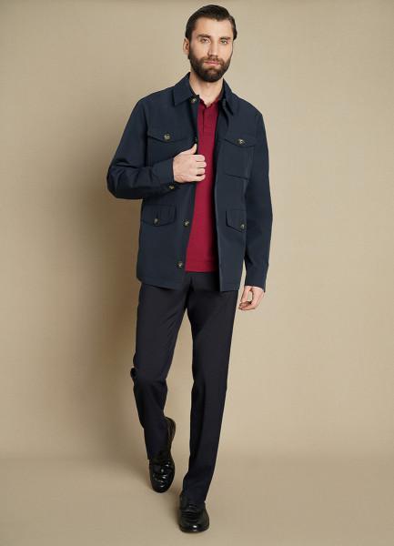 Куртка «4 кармана» с отложным воротником