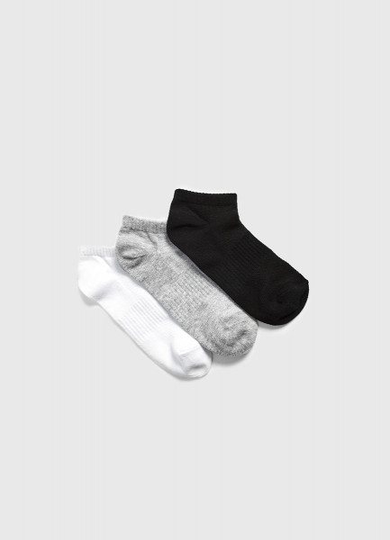 цена на Комплект коротких носков для фитнеса