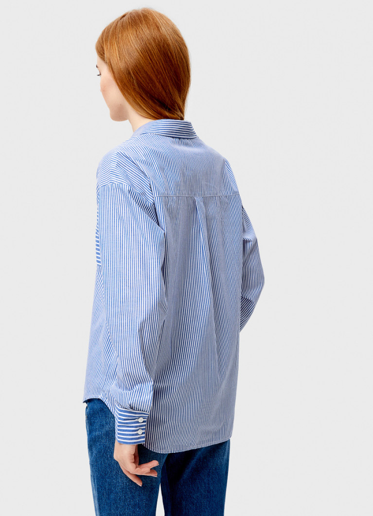 Рубашка свободного силуэта