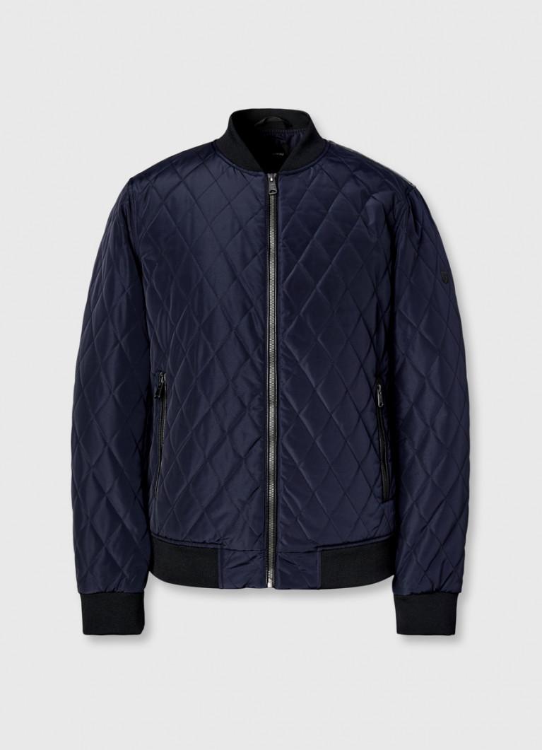 Стёганая куртка-бомбер