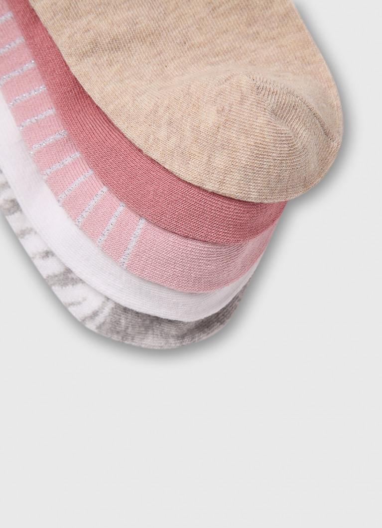 Женские колготки O'Stin Короткие носки с жаккардом