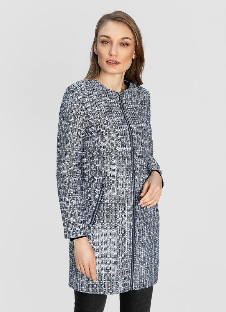 Женские пальто O'Stin Пальто из твидовой ткани