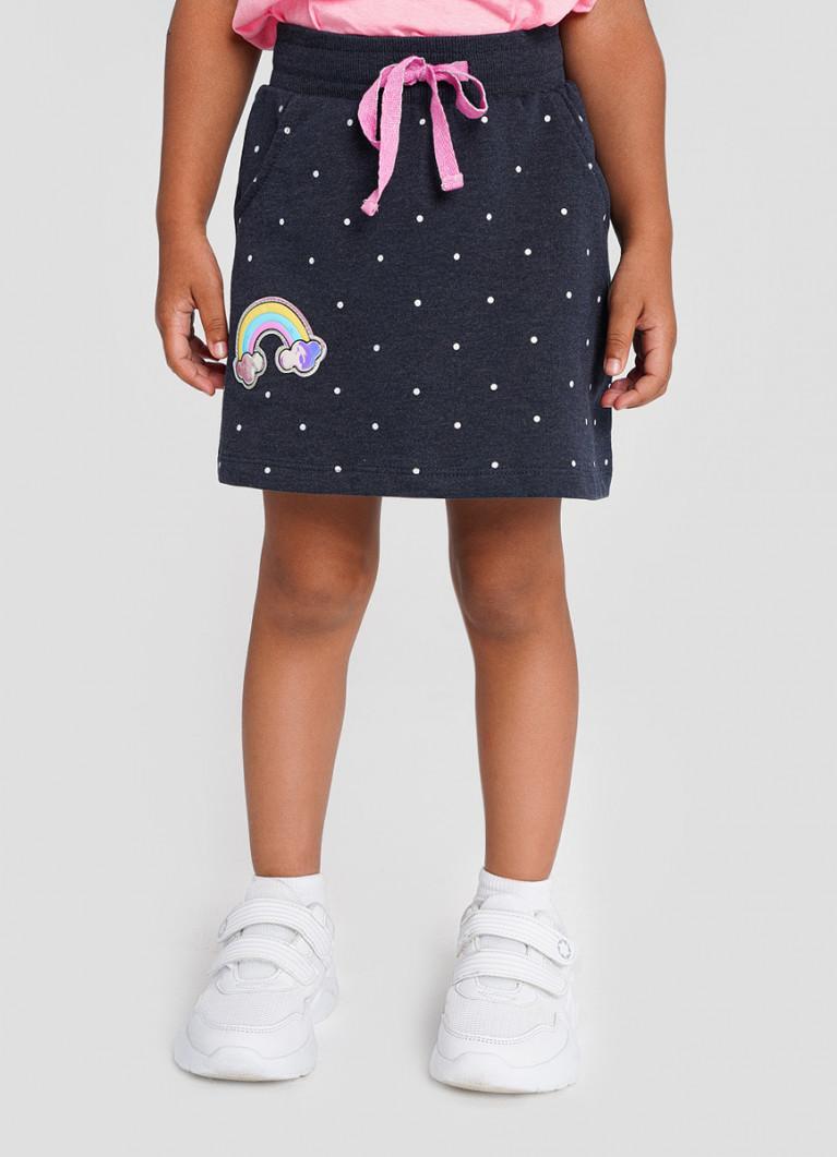 Юбка O'Stin Трикотажная юбка для девочек
