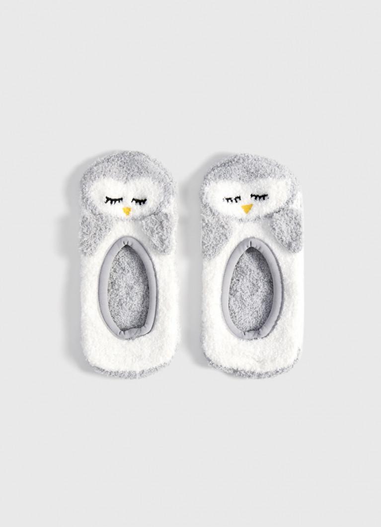 Короткие носки «совы»