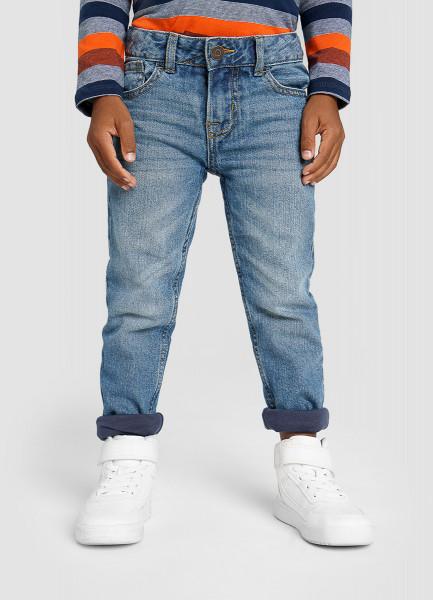Фото - Джинсы на подкладке для мальчиков джинсы на трикотажной подкладке