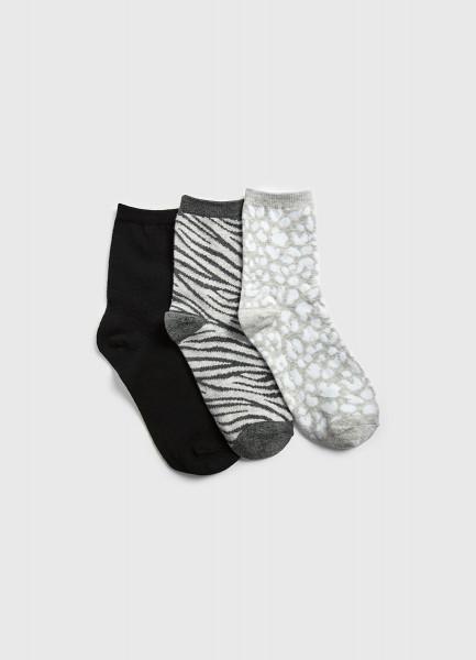 Носки с анималистичным жаккардом фото