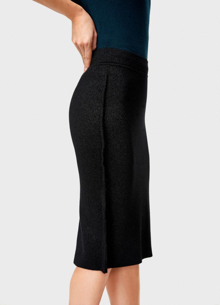Вязаная юбка-труба