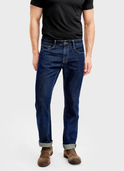 Базовые прямые джинсы фото