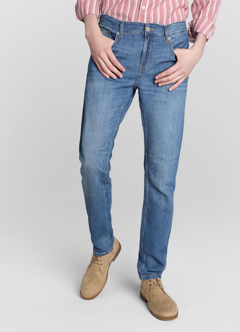 Мужские джинсы O'Stin Зауженные джинсы изо льна