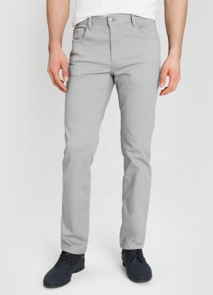 Базовые брюки «5 карманов» из твила фото