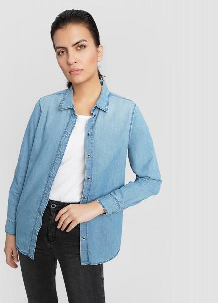 Рубашка из джинсы