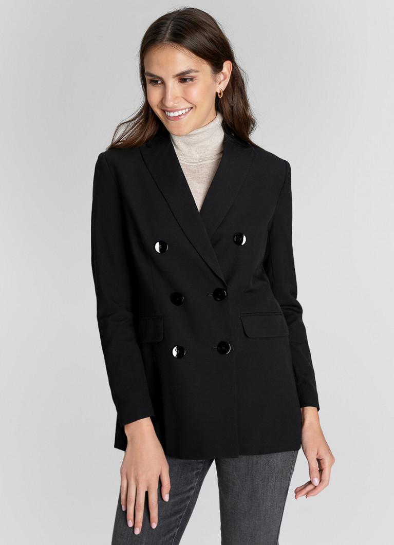 Пиджак O'Stin Двубортный жакет с шерстью