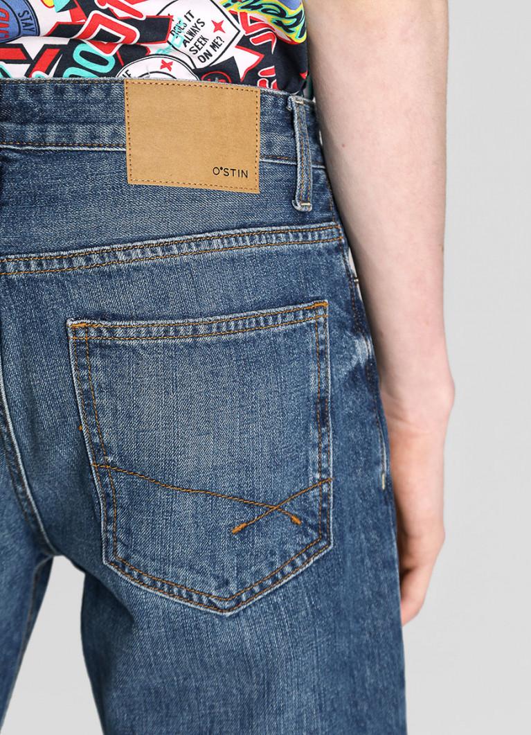 Мужские джинсы O'Stin Свободные джинсы с умеренной стиркой