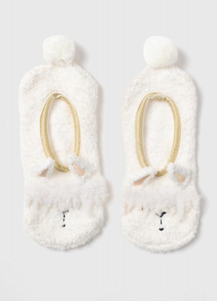Домашние носки с ламой
