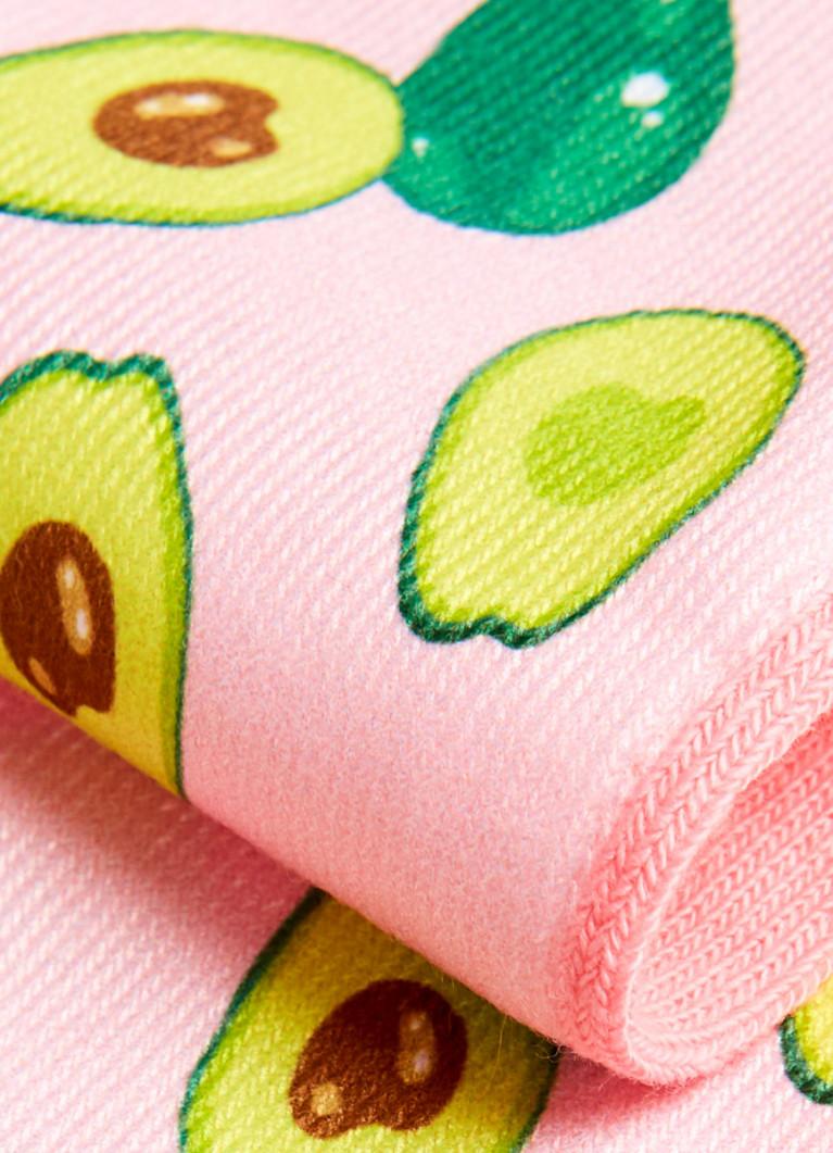 Короткие носки с принтом