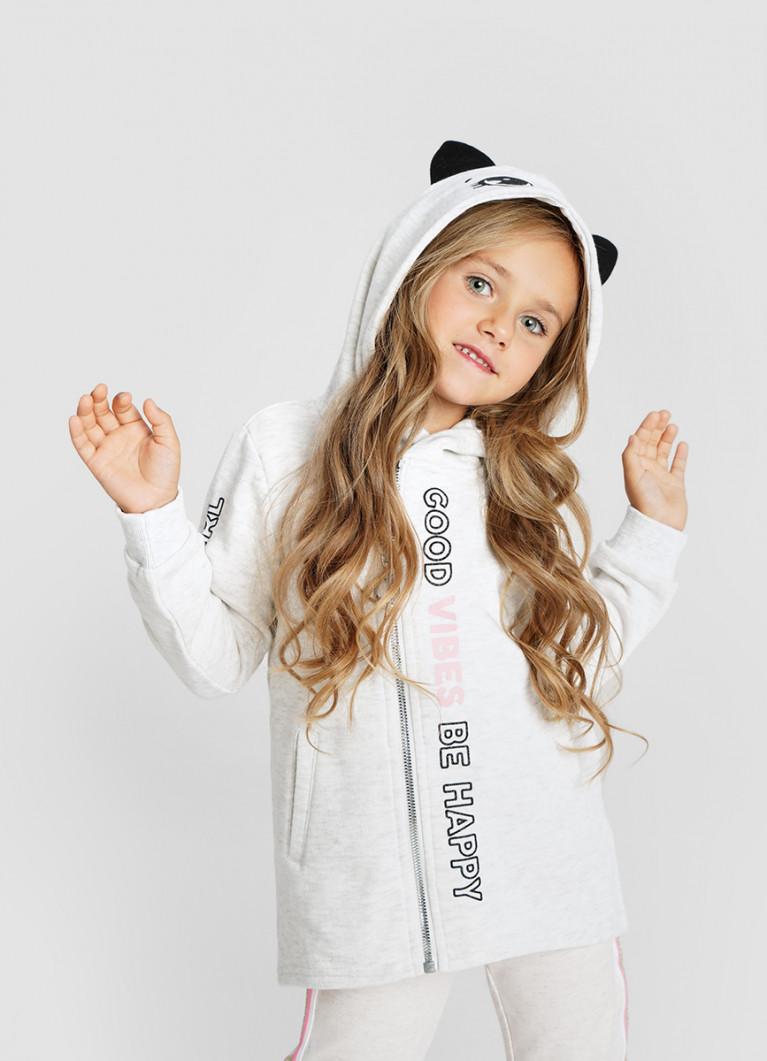 Толстовка O'Stin Трикотажная куртка для девочек