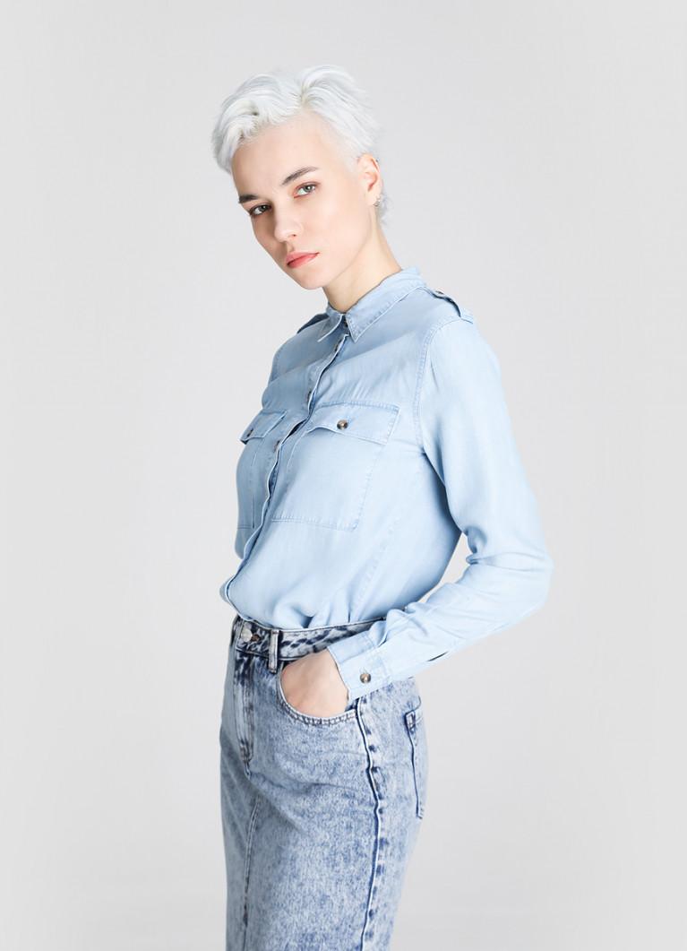 Блуза O'Stin Блузка из тенселя