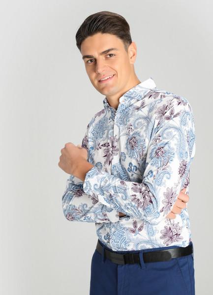 Рубашка из хлопка с принтом Paisley фото