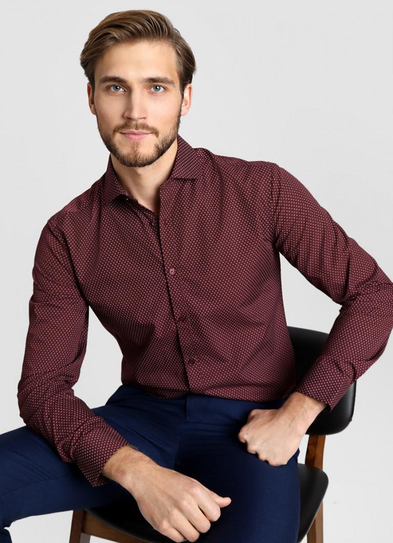 Рубашка O'Stin Рубашка с микропринтом