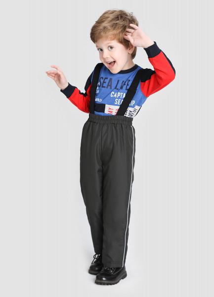 Утеплённые брюки для мальчиков фото