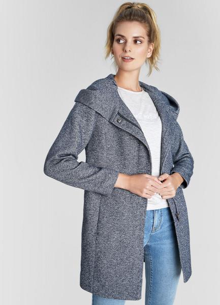 Легкое пальто с капюшоном и скрытой молнией ahirain легкое пальто