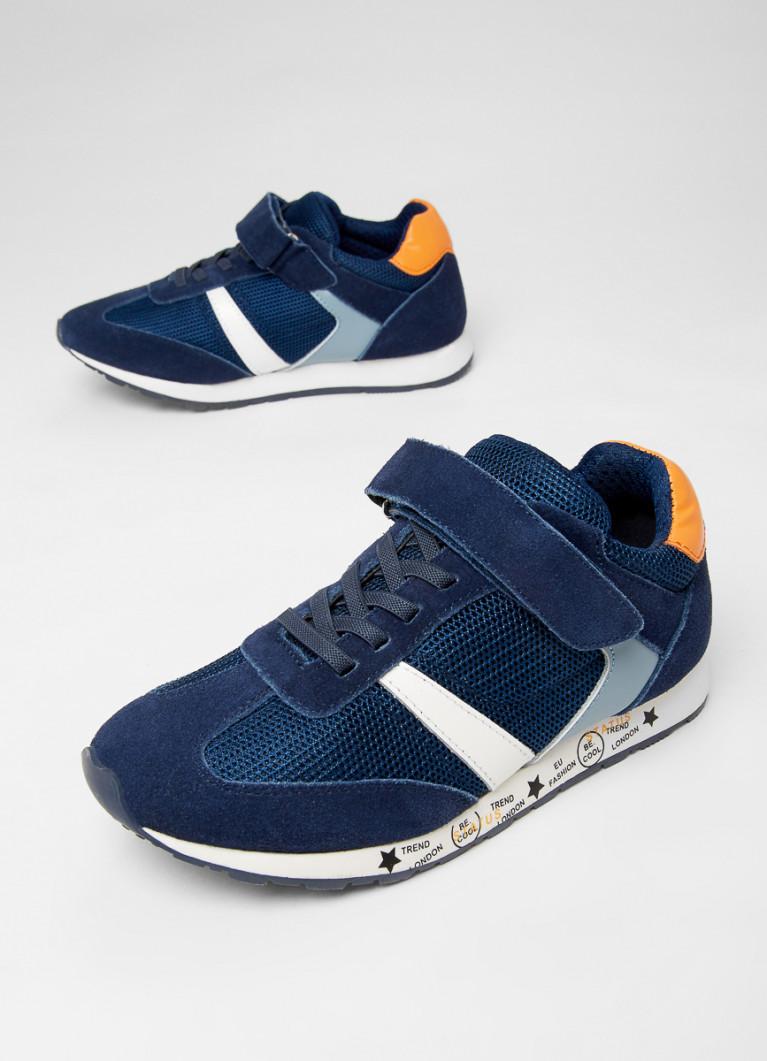Кожаные кроссовки для мальчиков