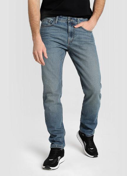 Базовые зауженные джинсы фото