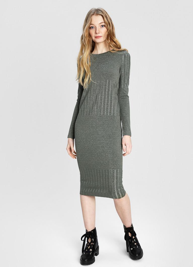 Платье O'Stin Платье в структурный рубчик