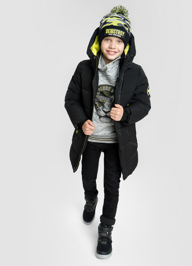 Утеплённая куртка для мальчиков