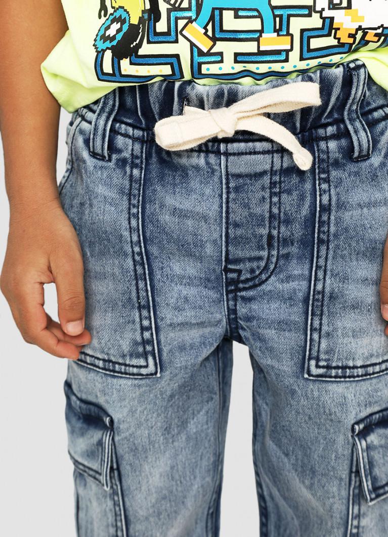Джинсы-джоггеры для мальчиков