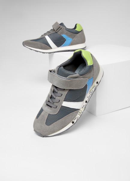 Кожаные кроссовки для мальчиков фото