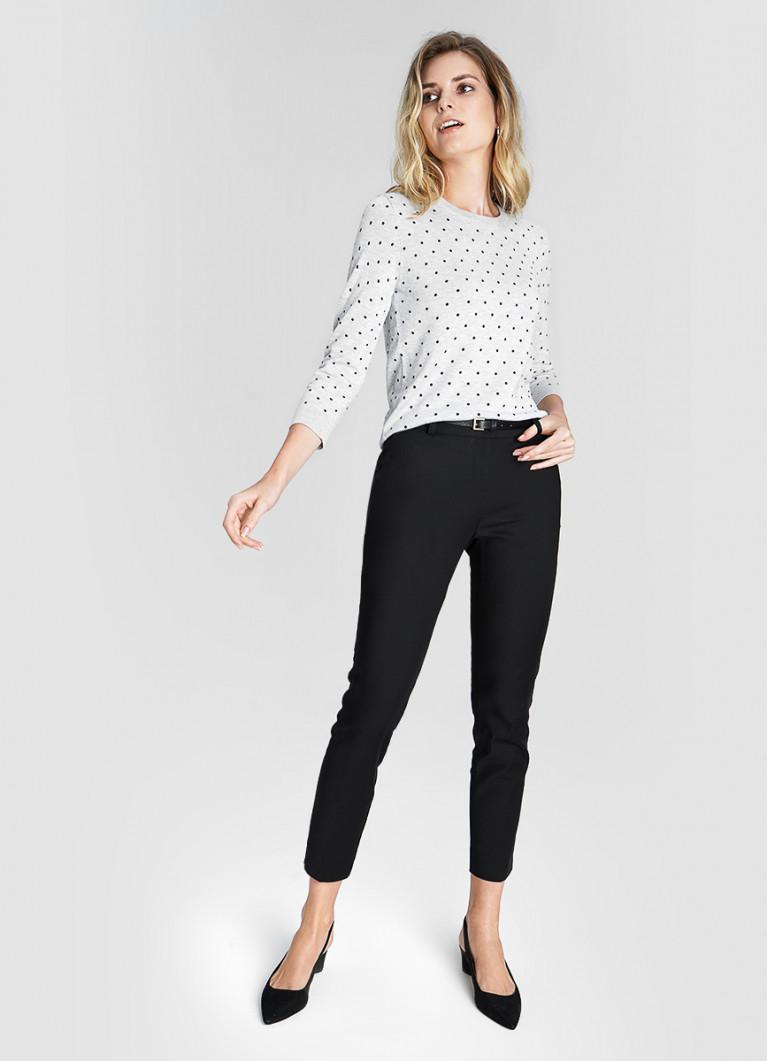 Женские брюки O'Stin Брюки из хлопка с ремнём