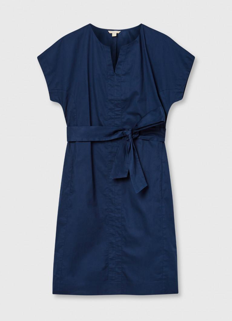 Платье-рубашка из хлопка
