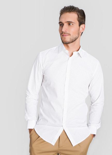 Базовая рубашка с принтом