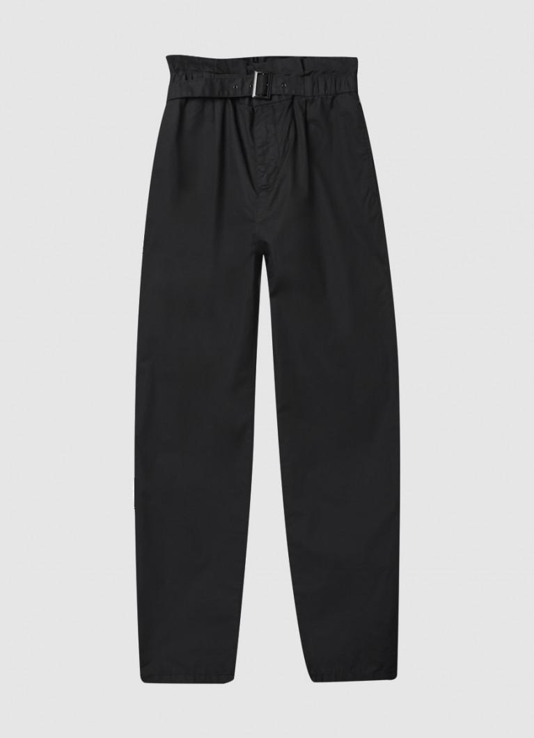 Женские брюки O'Stin Хлопковые брюки с завышенной талией