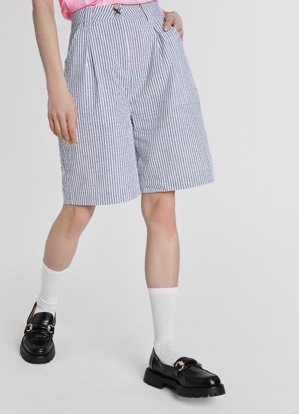 Удлинённые хлопковые шорты