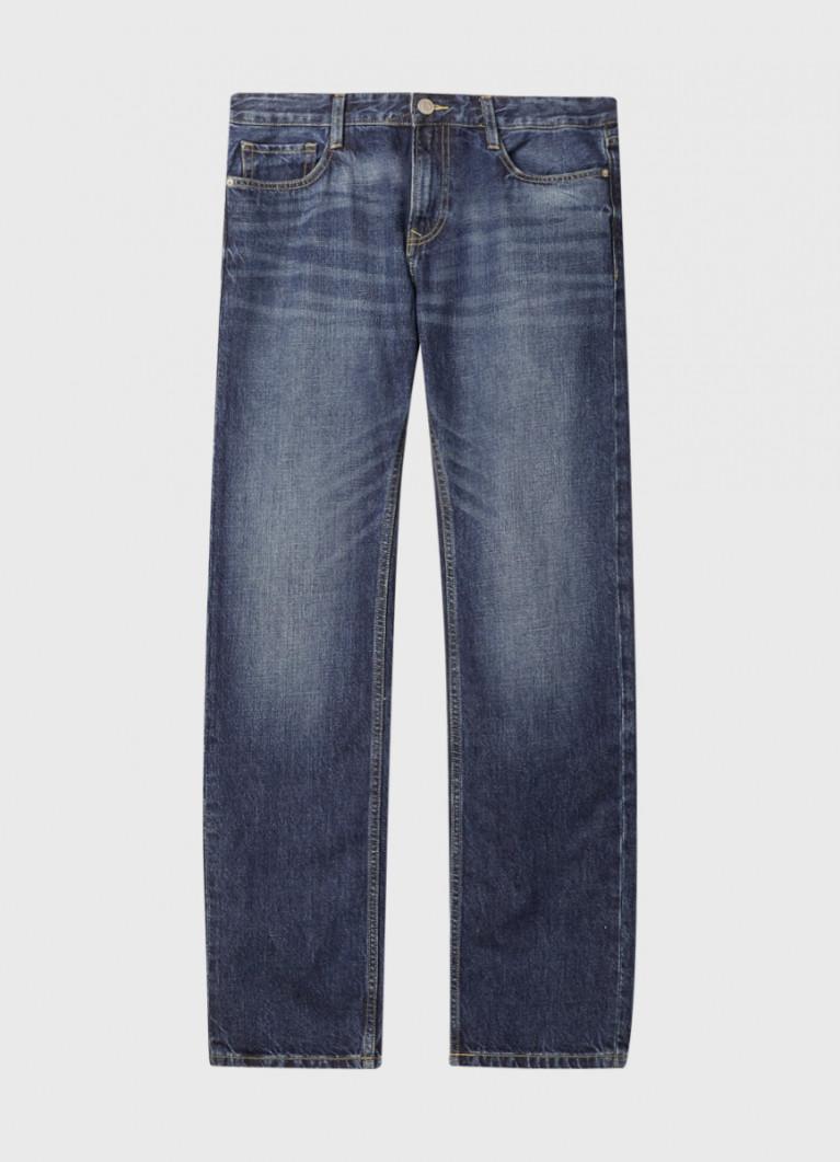 Мужские джинсы O'Stin Синие прямые джинсы